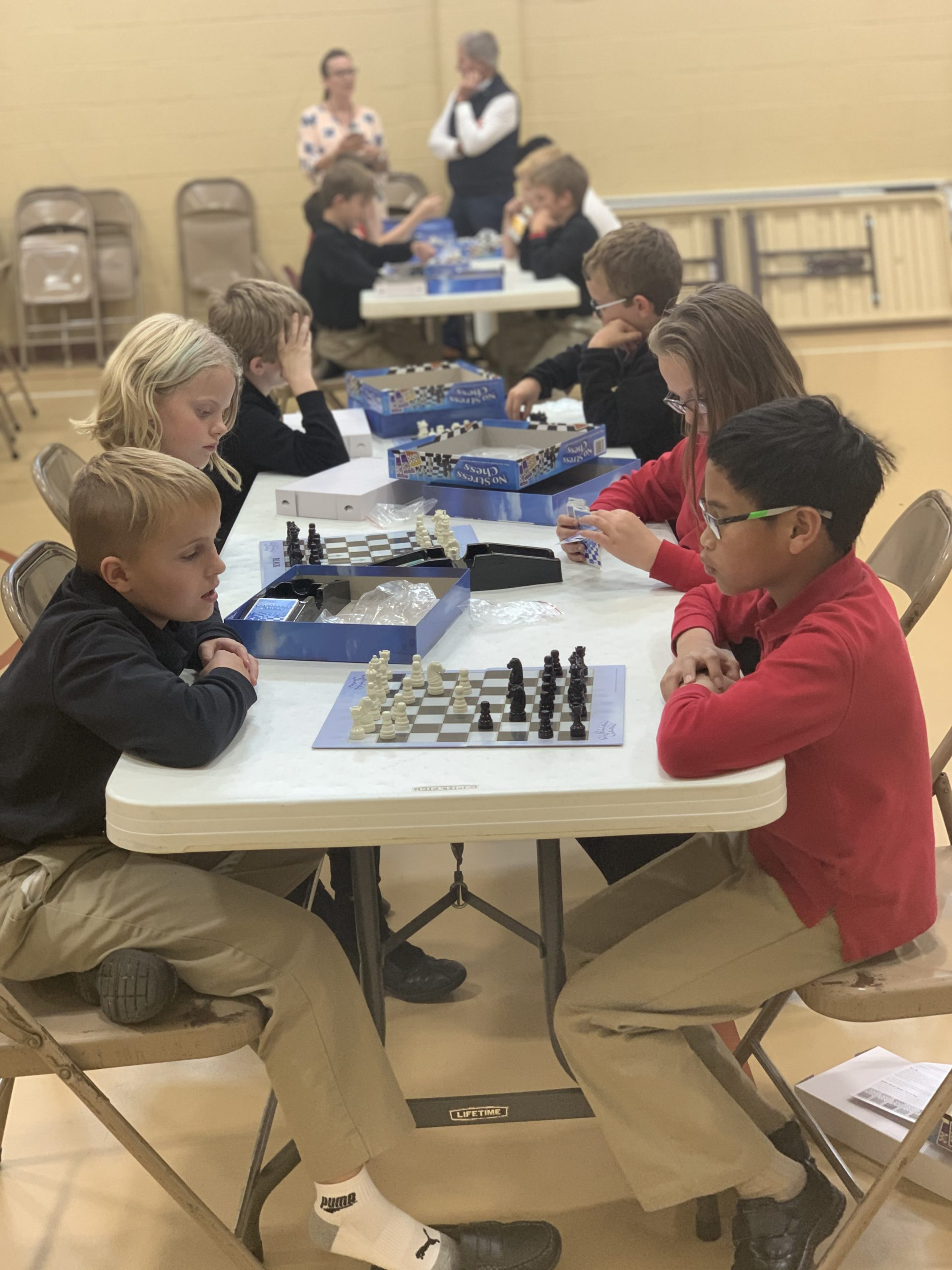 chess club challenges