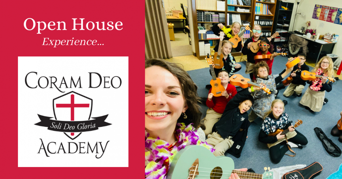 Open House at CDA, a K-8 Christian school in Carmel, IN